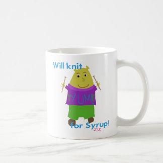 Jeffy Knitting Coffee Mug