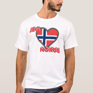 Jeg Elsker Norge (I Love Norway) T-Shirt