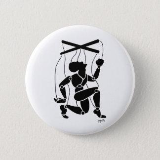 jeghetto 6 cm round badge