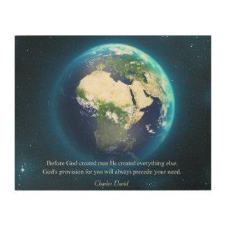 Jehovah-jireh Wood Prints