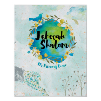Jehovah Shalom - Prince of Peace Poster