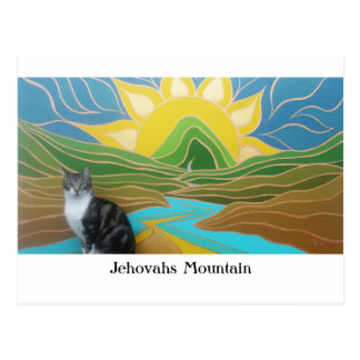 Jehovahs Mountain featuring Pudding Postcard