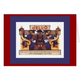Jello - (blank inside) greeting card