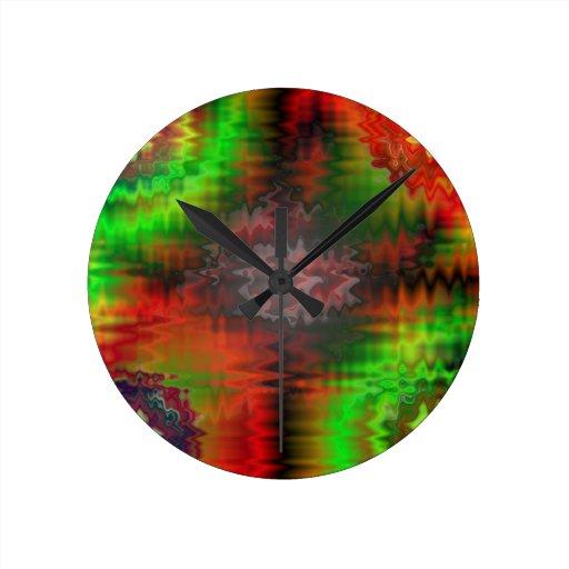 Jello Round Clocks