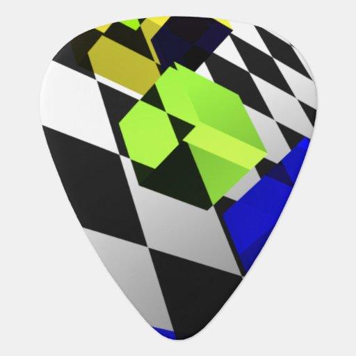 Jello Cubes Guitar Pick