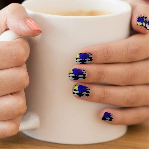 Jello Cubes Minx ® Nail Art