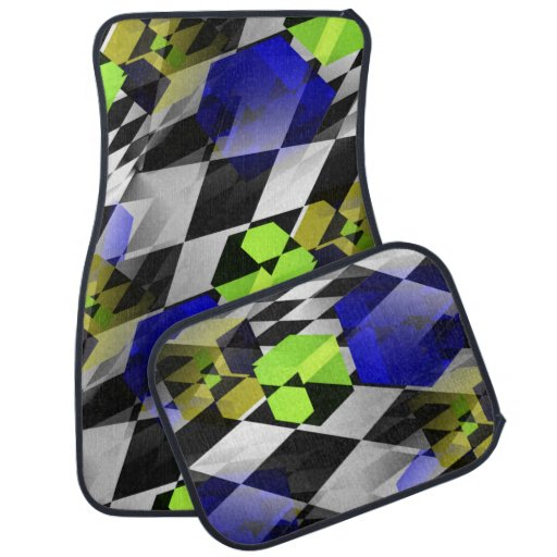 Jello Cubes Floor Mat
