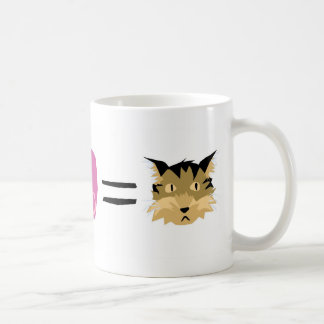 Jello + Love = Kitty Classic White Coffee Mug
