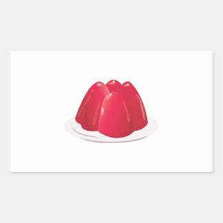 Jello Mold Rectangular Sticker