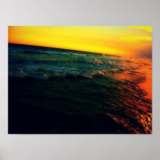 Jello sea print