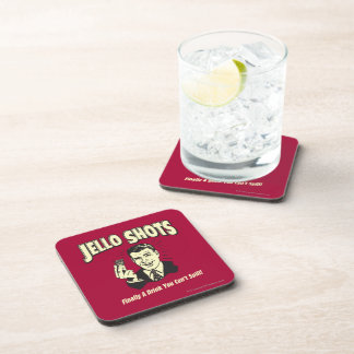 Jello Shots: Drink You Can't Spill Beverage Coaster