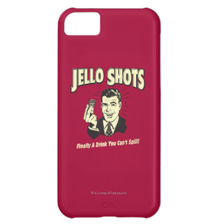 Jello Shots: Drink You Can't Spill iPhone 5C Case
