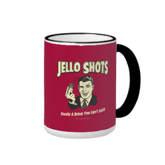 Jello Shots: Drink You Can't Spill Coffee Mug