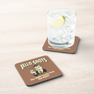 Jello Shots: Other Favorite Thing Coasters
