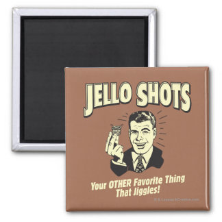 Jello Shots: Other Favorite Thing Fridge Magnets
