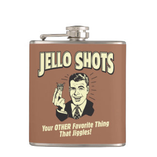 Jello Shots: Other Favorite Thing Flasks