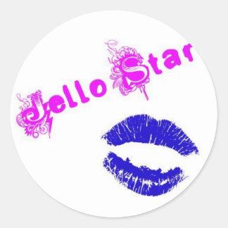 Jello Star STICKERS!