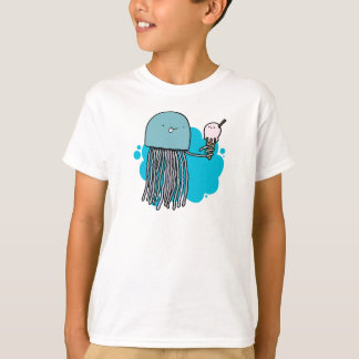 Jelly and Ice cream kids shirt (light)