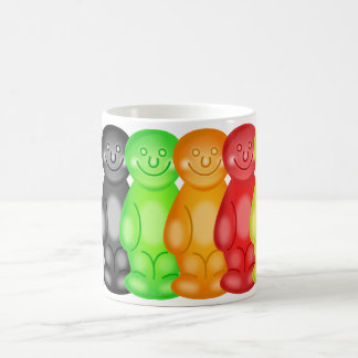 Jelly Baby Gang Basic White Mug