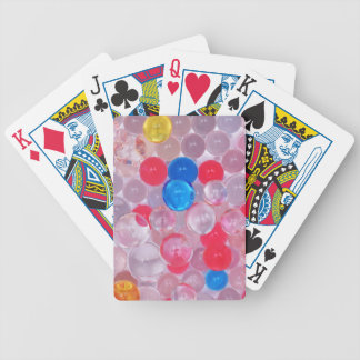 jelly balls bicycle playing cards
