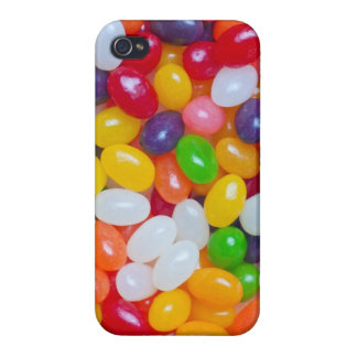 Jelly Bean - Easter Jellybeans Background Template iPhone 4 Covers