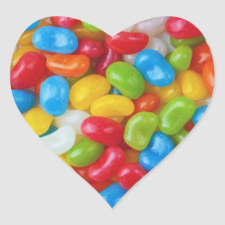 JELLY BEAN HEART STICKERS
