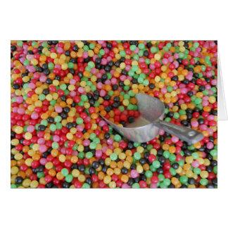 'Jelly Bean Heaven' Blank Card