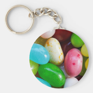 Jelly Bean Keychain