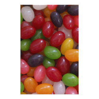Jelly Bean scrapbooking paper