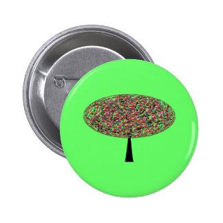 Jelly Bean Tree 6 Cm Round Badge