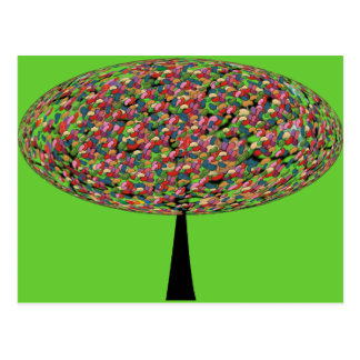 Jelly Bean Tree Post Card