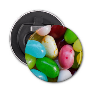 Jelly Beans Magnet Backed Bottle Opener