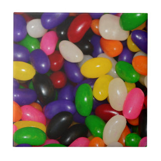 Jelly Beans Small Square Tile