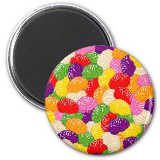 Jelly Brains Fridge Magnets