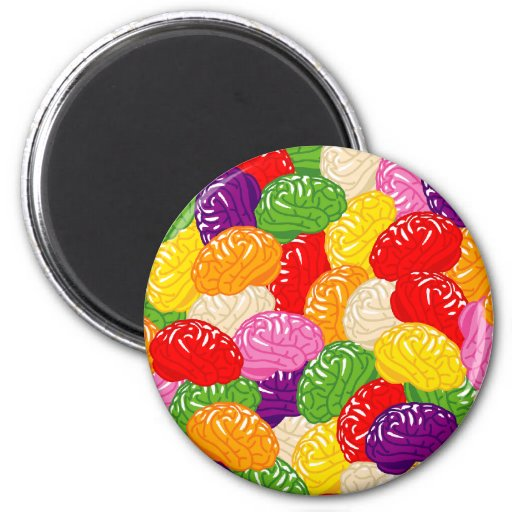 Jelly Brains Magnets