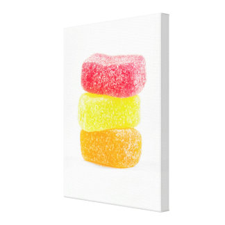 Jelly Candies Wrapped Canvas Gallery Wrap Canvas