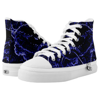 Jelly Fish Abstract Shoes Printed Shoes