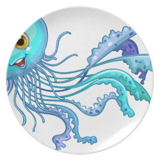 Jelly fish plate