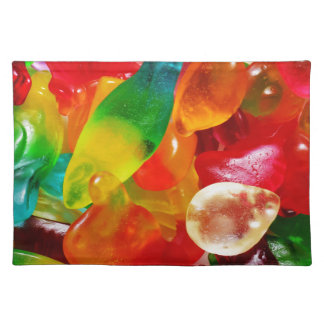 jelly gum placemat
