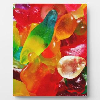 jelly gum plaque