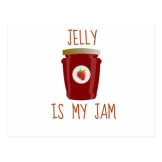 Jelly is My Jam Postcard
