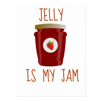 Jelly is My Jam Postcard