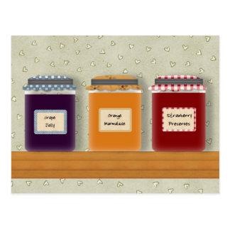 Jelly Jars Recipe Cards