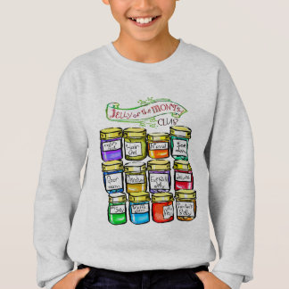 Jelly of the Month Club Funny Christmas Sweatshirt