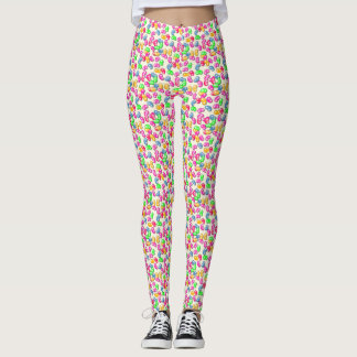 Jellybean Queen Leggings in French Vanilla