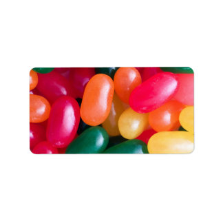 Jellybeans Easter Jellybean Background Jelly Beans Label