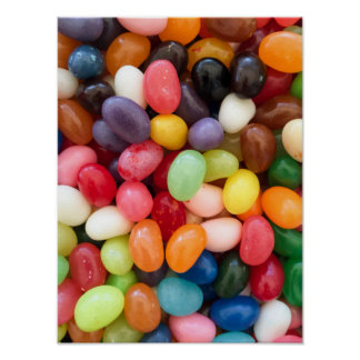 Jellybeans Easter Jellybean Background Jelly Beans Poster