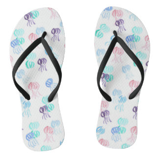 Jellyfish Adult Slim Straps Flip Flops Thongs