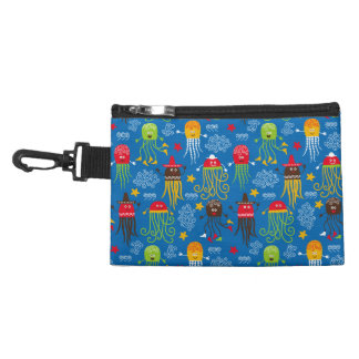 Jellyfish and Octopus Accessories Bag