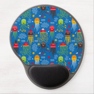 Jellyfish and Octopus Gel Mouse Mat